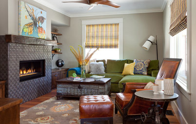 New This Week: 3 Living Rooms Focus on the Fireplace