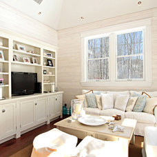 Traditional Family Room by D.A.S. Custom Builders