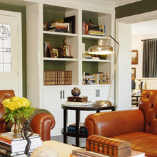 Traditional Family Room by Annette English