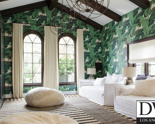 Beverly Hills Martinique Banana Leaf Wallpaper