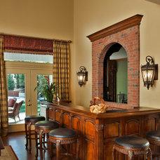 Traditional Family Room by Valerie Garrett Interior Design