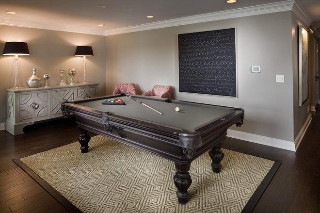 Современная классика Семейная комната by Hoskins Interior Design