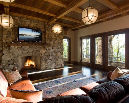 Large Stone Fireplace Ideas Pictures Remodel And Decor
