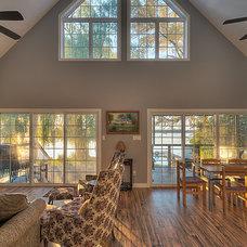 Traditional Family Room by MGA Renovations