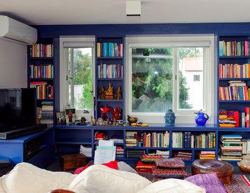 Birchgrove Bookcase and Entertainment BoHo