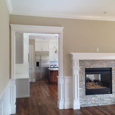 Craftsman Family Room by Kent Painting & Finishing Inc