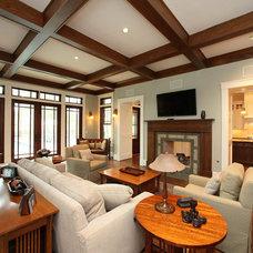 Traditional Family Room by Jewel Box Homes - Robert Latham, GMB