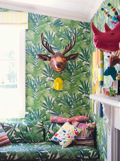 Ecléctico Sala de estar by Alex Fulton Design