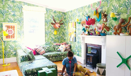 10 Retro Ideas for Your Kids' Space