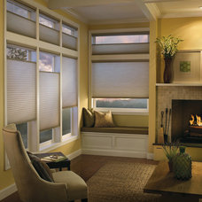 Traditional Family Room by Shades IN Place