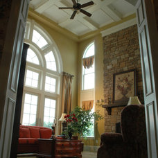 Traditional Family Room by J. Hall Homes, Inc.