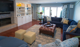 Blue & Yellow Family room