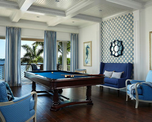 Pool table room houzz for Pool design game