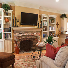 Traditional Family Room by Trantow Design