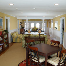 Traditional Family Room by Boardwalk Builders