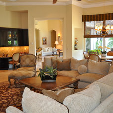 Traditional Family Room by Jennifer Mirch Designs