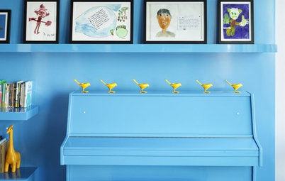 Houzz Tour: Gloriously Untamed Colour in a Manhattan Family Home