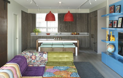 Houzz Tour: Gloriously Untamed Color in a Manhattan Home