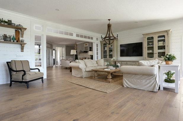 Beach Style Family Room by Bona US