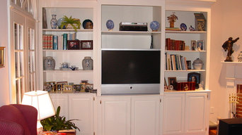 Bookcases-Family Room