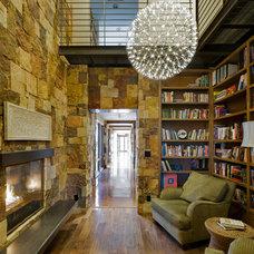 Contemporary Family Room by Environmental Dynamics, Inc.