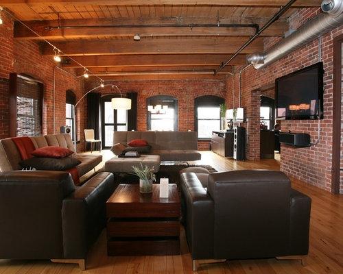 Loft Living Room Houzz