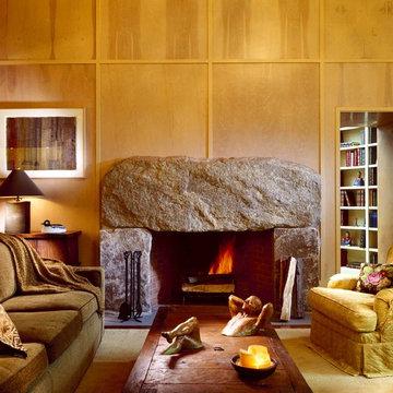Boulder Fireplace