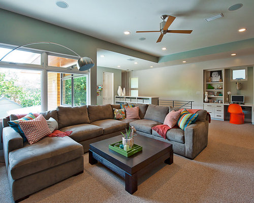 Living Room Designs With Sectionals sectional couch | houzz