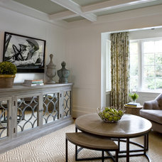Transitional Family Room by 2 Ivy Lane