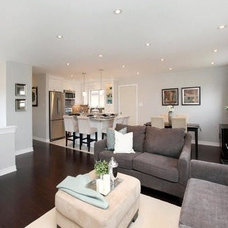 Contemporary Family Room by Sunlight Staging & Home Decor