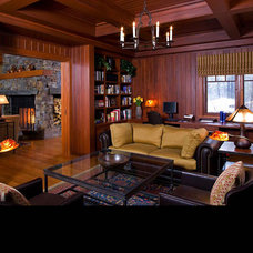 Traditional Family Room by BraytonHughes Design Studios