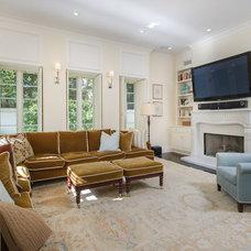 Traditional Family Room by Dana Lauren Designs