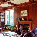 Pacific Hillside Retreat Traditional Family Room San