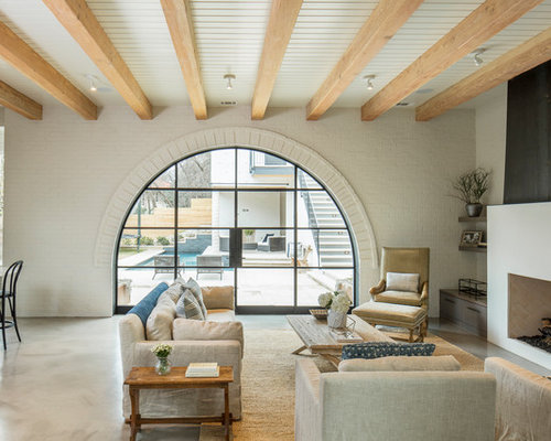 transitional family room design ideas remodels photos houzz - Transitional Design Ideas
