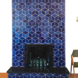Bright & Bold Diamond Fireplace
