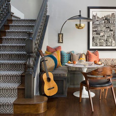 Eclectic Family Room by Atelier Interior Design