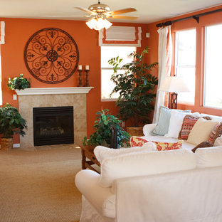 Bright and White Family Room