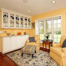 Traditional Family Room by Michael Nash Design, Build & Homes