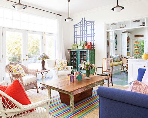 salle de s jour romantique ouverte photos et id es d co de salles de s jour. Black Bedroom Furniture Sets. Home Design Ideas