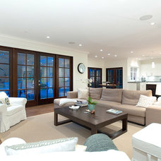 Contemporary Family Room by Karnak Pro Builders