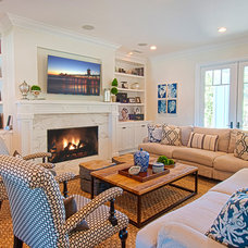 Traditional Family Room by Christiano Homes, Inc.