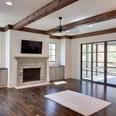 Traditional Family Room by Blake Shaw Homes, Inc