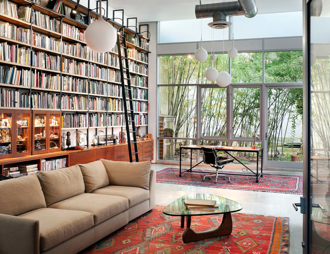 Contemporary Family Room by BWArchitects