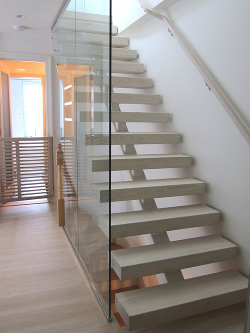 Open Riser Stair Home Design Ideas Pictures Remodel And