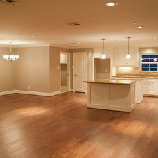 Traditional Family Room by Curtis Lawson Homes
