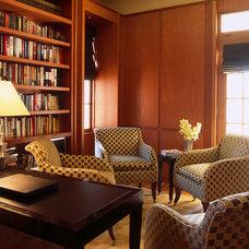 Contemporary Family Room by BROWN DAVIS INTERIORS, INC.