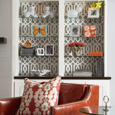eclectic family room by Martha O'Hara Interiors