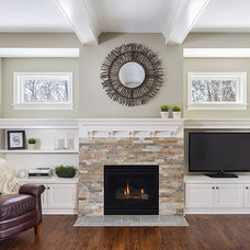 Traditional Family Room by Sicora Design/Build