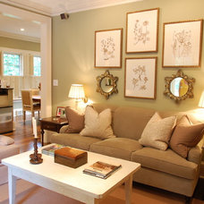 Traditional Family Room by Cindy Lynn Dunaway Interiors