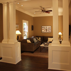 Traditional Family Room by Red Level Renovations, LLC